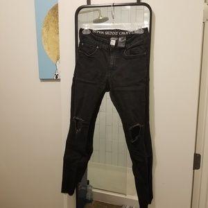 Mens H&M Super Skinny Cropped Jean's Size 32